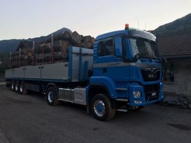 MAN TGS 18.500 - Holztransport - Cantieni AG - Donat